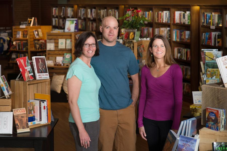 Lisa Lamberson, Ben Shaffer and Annette Avery